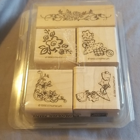 Stampin' Up! Other - Stampin up! Corners mini stamp set of 5